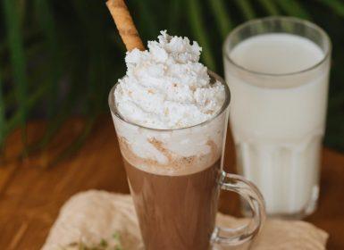 Какао на рослинному молоці