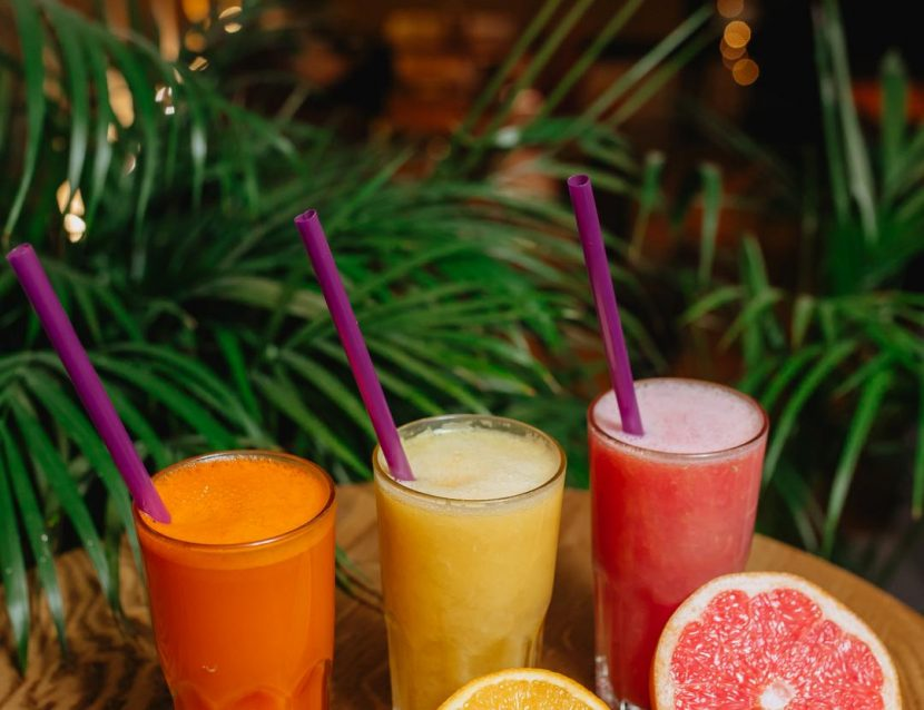 Fresh squeezed juices